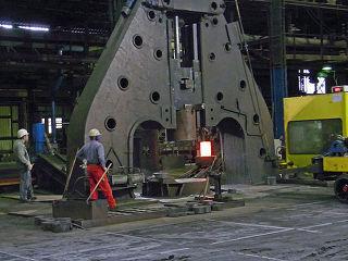 금속 단조 Forging 가공 공학나라 기계
