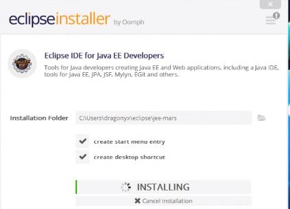 동영상]이클립스 이용한 자바코드 작성 (Eclipse Installer 사용하기)