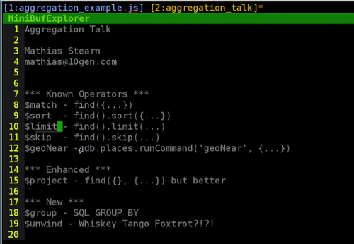 Intelligence Convergence :: [MongoDB] Aggregation Framework 실습하기