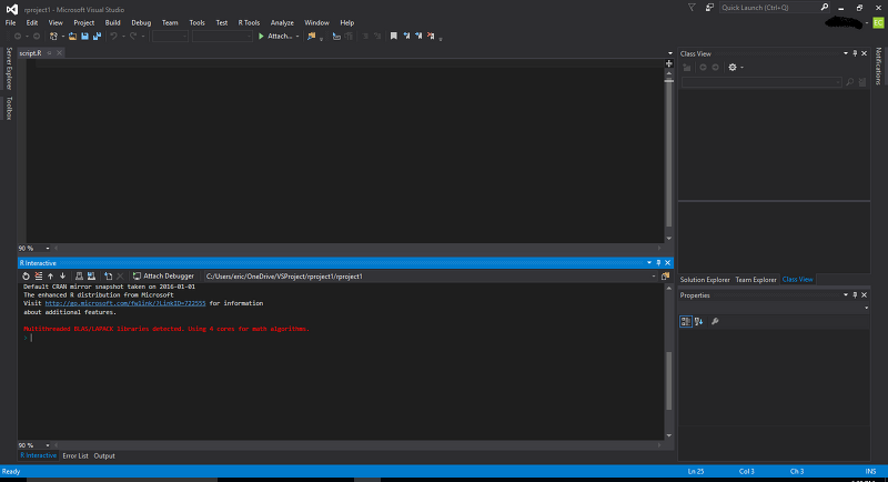 Microsoft R 관련 솔루션: MRO(Microsoft R Open), RTVS(R Tools for