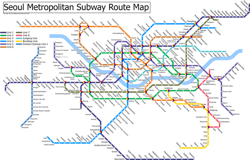 Korean Subway Map English.All About Korean Metro Subway