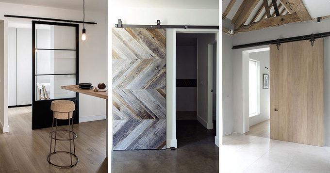 슬라이딩 도어 사례 10 Examples Of Barn Doors In Contemporary