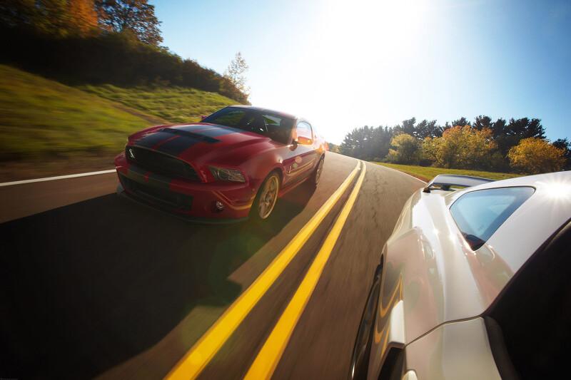 2014년형 포드 쉘비 GT500 대형 사이즈 사진들
