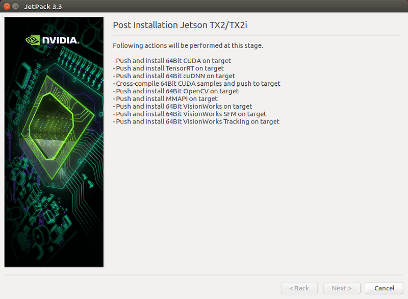 2  VisionWorks Pack Install