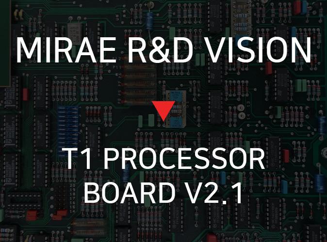MIRAE R&D VISION T1 PROCESSOR BOARD V2 1 TI DSP V2 1 PROCESSOR