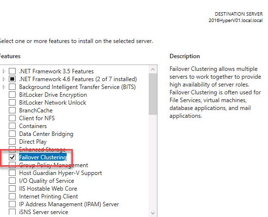 Windows Server 2016 Hyper-V Cluster on VMware #2
