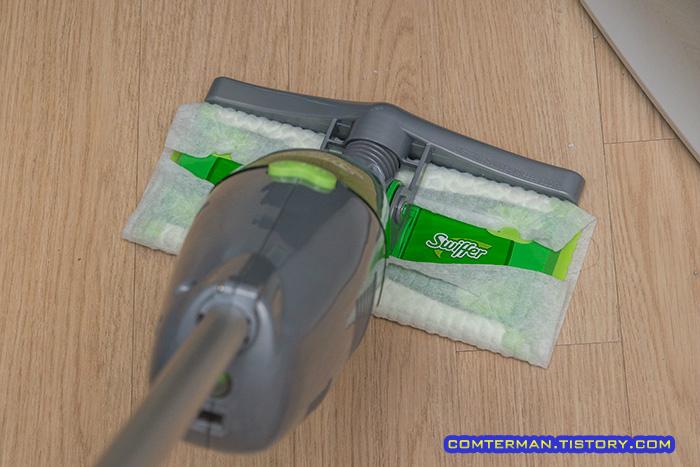 Swiffer Sweep And Vac 진공청소기 사용기 정전기 청소포와 진공청소기의 시너지