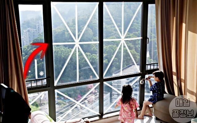 태풍 대비 창문 깨짐 막는 방법 4가지
