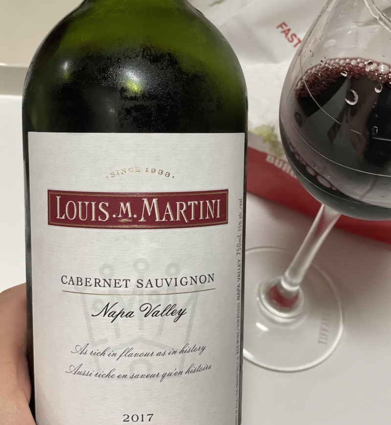 Louis M. Martini wine dinner at Mitzo - SPIRITED/SG