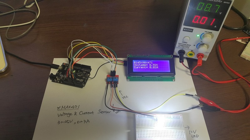 Rdiot Demo Arduino Voltage And Current Sensor 3 25v 0