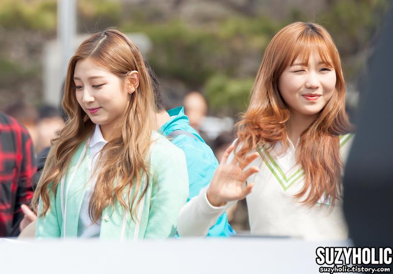 160222 한국외국어대학교 글로벌캠퍼스 OT 축하공연 러블리즈 직찍