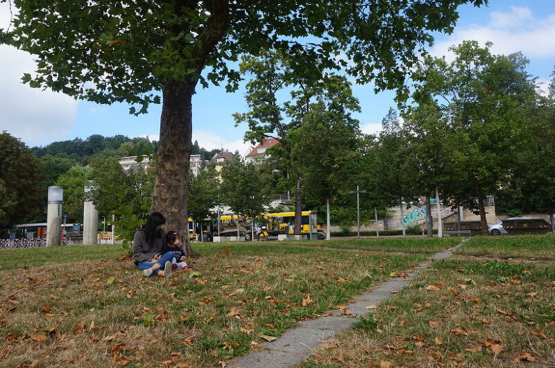 완전 가을이다, 독일 Stuttgart Südheimer Platz :: 독일생활을담다
