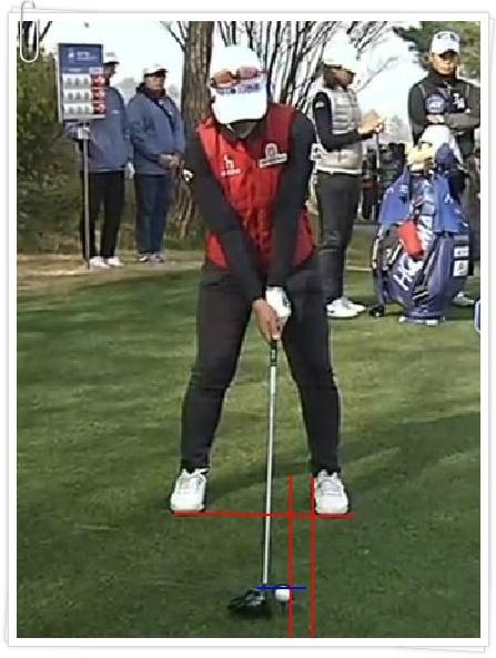 V1 Golf어플 골프스윙 정면에서 분석하는 방법