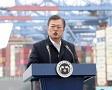 """文, 가덕공항 반대한 국토부 공개 질책..변창흠 """"송구하다"""""""