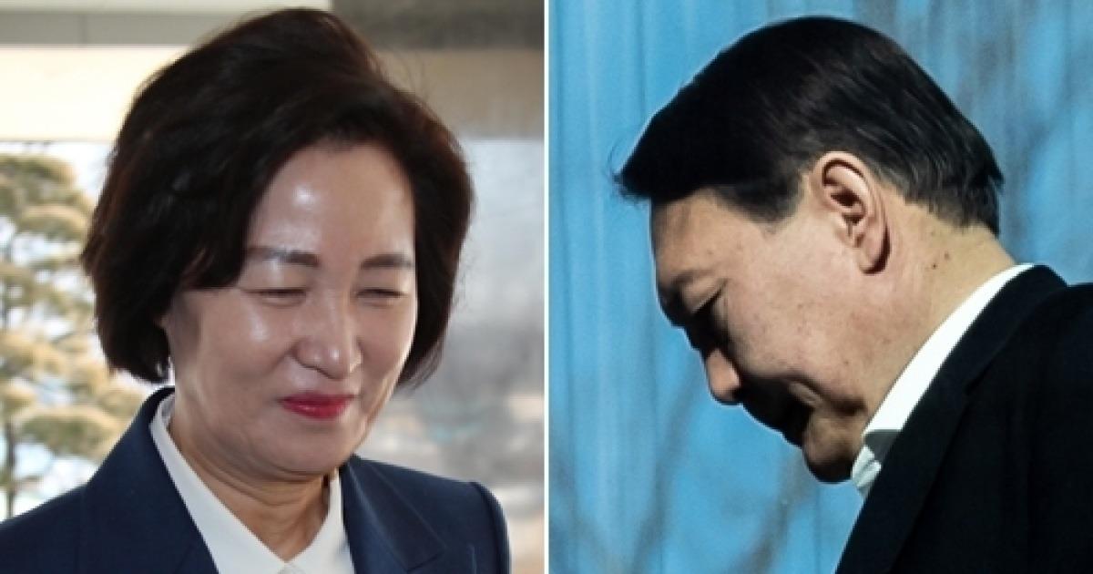 """英 언론, 추미애 '명 거역' 발언 이후 """"검찰 인사 조선시대 귀양과 유사"""" [뉴스+]"""