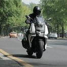[시승기] '도심형 어드벤처' 스쿠터..BMW C400X