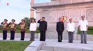 김정은, 사상 첫 전군지휘관 강습 주재..핵 언급 없어