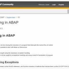 SAP HOW TO' 카테고리의 글 목록