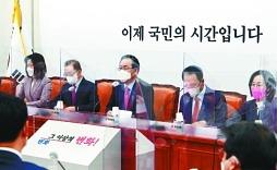 '링' 밖서도 존재감 후끈.. 김종인·홍준표 향한 설전에 야권 시끌