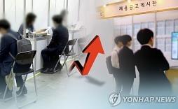4월 취업자 65.2만명↑ 6년8개월만 최대..