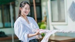 '갯차' 커플 고무줄바지 입은 신민아 김선호, 이토록 로맨틱한 빨래라니