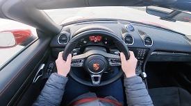 포르쉐 718 박스터 GTS 타면 이런 느낌