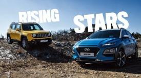 요즘 잘 팔리는 콤팩트 SUV 비교 시승기, 레니게이드 vs. 코나