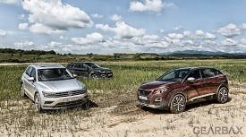 티구안 vs 3008 vs 컴패스, 진짜 SUV는 누구?