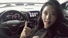 [시승기] 쉐보레 엠버서더, 레이싱 모델 '이영'의 엠버서더와 이쿼녹스