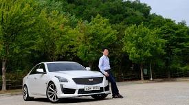 [강변오토시승기] 매력적인 MRC, 그리고 더 매력적인 V8 엔진의 캐딜락 CTS-V