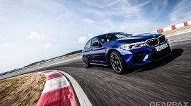 BMW M5의 블루 러시