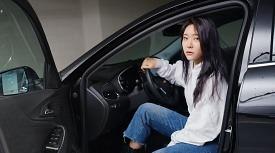 [시승기] 모델 정주희의 '쉐보레 더 뉴 말리부 E-터보' 시승기