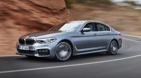 [시승기]고급스럽고 단단한 주행감..'외형+내실' 대표주자, BMW 뉴 520D