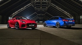 <모터매거진-MATCH> 재규어 F 타입 SVR 컨버터블 VS BMW M5