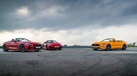 [시승기] 포드 머스탱 VS BMW Z4 VS 포르쉐 박스터
