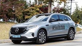 [벤츠 첫 전기차 '더 뉴 EQC' 시승기] 전통과 철학이 살아있는 SUV..탁월한 주행 성능