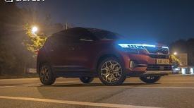 [차박시승기]기아 소형 SUV 셀토스..성인 2명 누워도 충분!