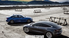 3의 전쟁, 테슬라 모델 3 & BMW 3시리즈