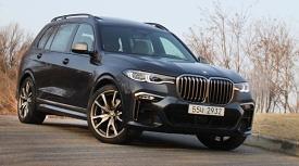 [시승기] 정점 향한 순간을 같이 할 BMW X7 M50d