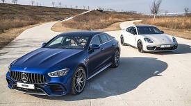 <모터매거진-MATCH> 메르세데스-AMG GT 4도어 쿠페 VS 포르쉐 파나메라 GTS (2)