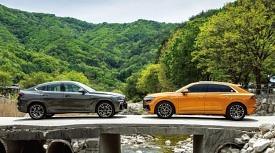 쿠페형 SUV의 자존심 대결! BMW X6 vs. 아우디 Q8