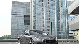 [자유로 연비] 디젤 엔진을 품은 이탈리안 플래그십, 마세라티 콰트로포르테의 자유로 연비는?