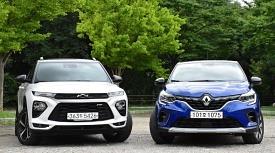 [비교 시승] 소형 SUV, 뭘 살지 고민하고 있다면. 캡처 vs. 트레일블레이저