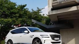 [시승기] 럭셔리 플래그십 SUV, 제네시스 GV80 3.5 V6