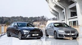 1등은 나의 것, BMW 523d vs. 메르세데스 벤츠 E 220 d
