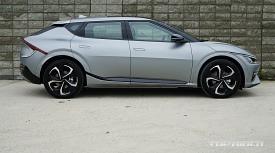 [시승기] 전기차 EV6 GT 라인, 아이오닉5와 다른 점은?
