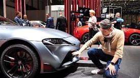 [제네바] 신형 수프라 살펴보니..겉은 토요타 속은 BMW