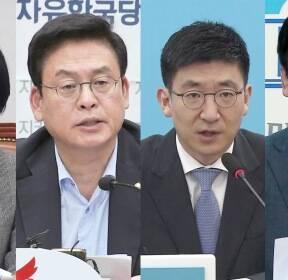 """""""북핵 평화적 해법 강조"""" vs """"대북 평화 구걸"""""""