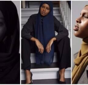 덴마크에 '히잡 쓴 모델' 첫 등장..이슬람시장 겨냥 포석?