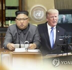 """트럼프 """"김정은은 미치광이..전례 없는 시험대 오를 것"""""""